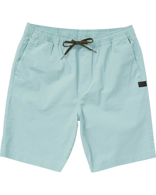0 Boys' Larry Layback Walkshorts  B235PBLA Billabong