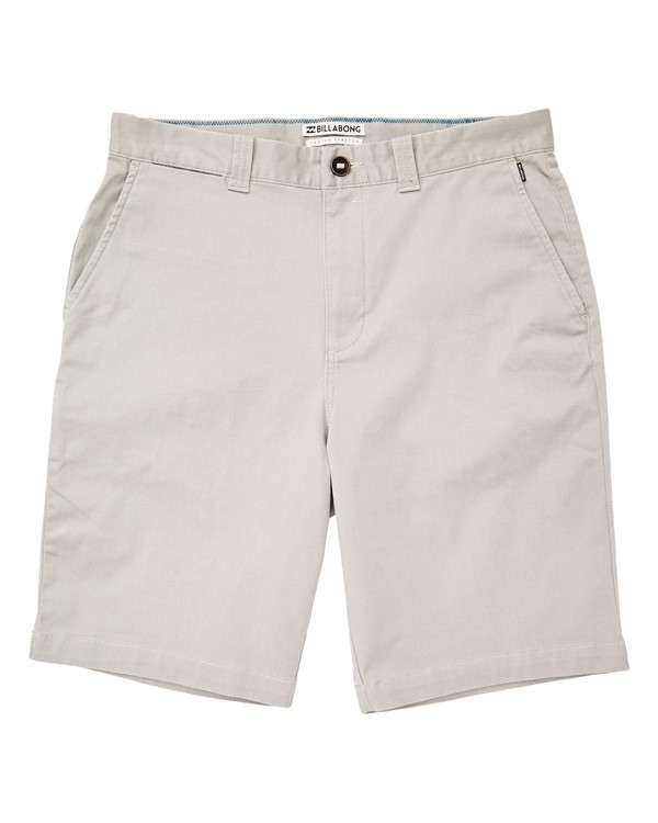 0 Boys' Carter Stretch Shorts Grey B236TBCS Billabong