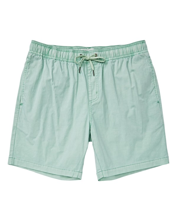 0 Boys' Larry Layback Walkshorts Brown B239VBLL Billabong