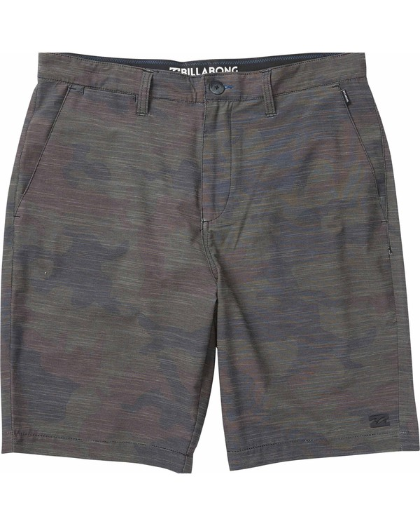 0 Boys' Crossfire X Camo Submersibles Boardshorts  B256LCRC Billabong