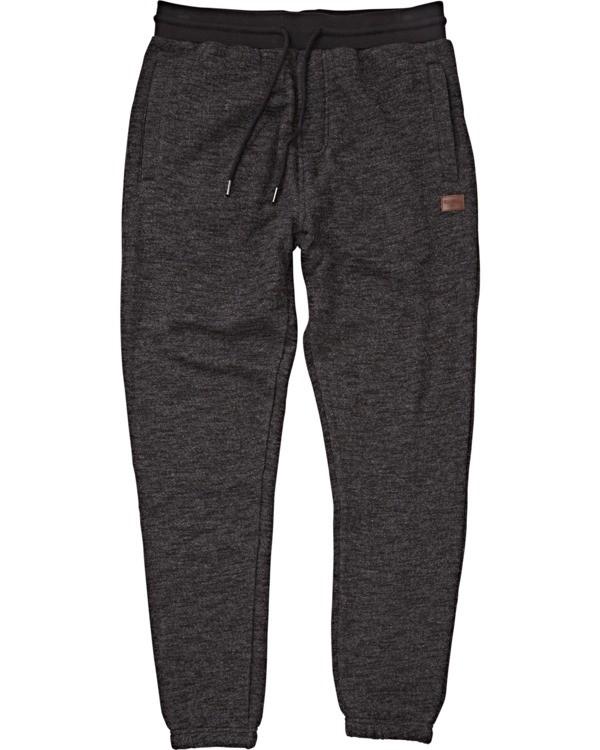 0 Boys' Balance Cuffed Pants Black B300VBBP Billabong