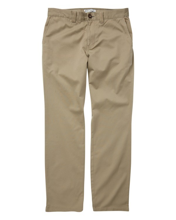 0 Boys' Carter Stretch Chino Pants Grey B314VBCS Billabong
