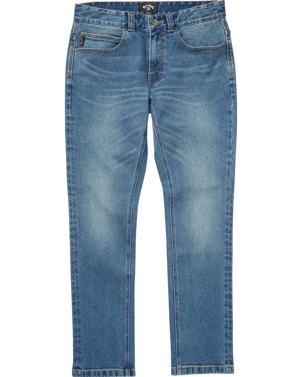 0 Boys' Outsider Jeans Blue B330QBOJ Billabong
