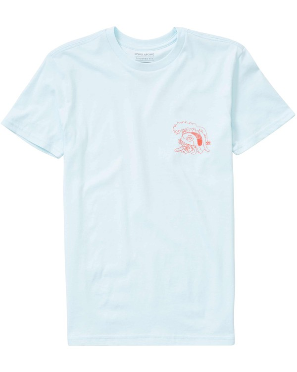 0 Boys' Snacks N Shacks T-Shirt  B401LSNA Billabong