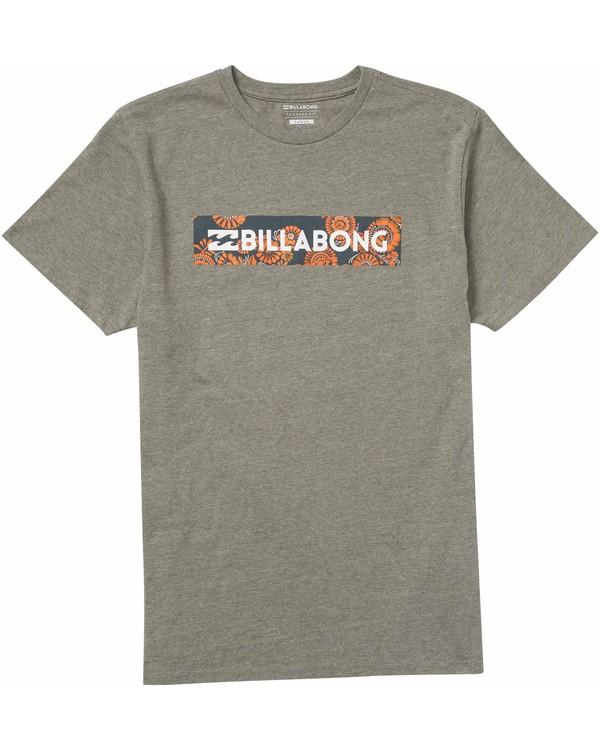 0 Boys' Unity Block T-Shirt  B401LUNI Billabong