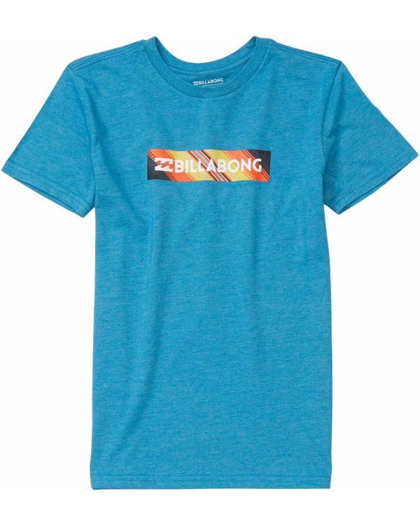 0 Boys' Unity Block T-Shirt  B401MUNI Billabong