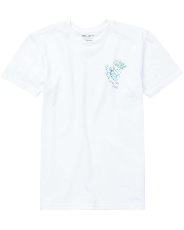 0 Boys' Snacks And Shacks Tee  B401NBSN Billabong