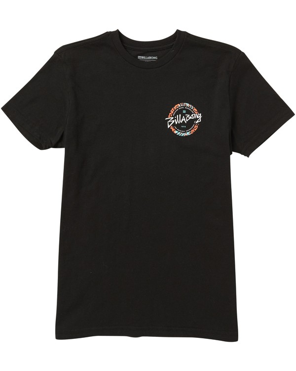 0 Boys' Eighty Six T-Shirt Black B401SBEI Billabong