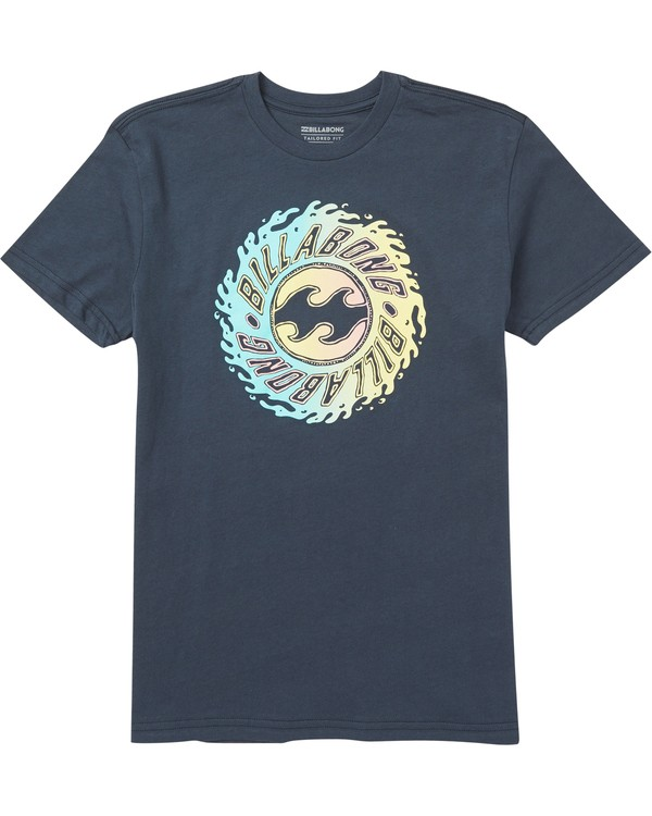 0 Boys' Ooze T-Shirt Blue B401SBOO Billabong