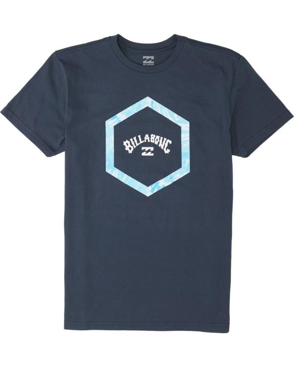 0 Boys' Access Short Sleeve T-Shirt Blue B4041BAC Billabong