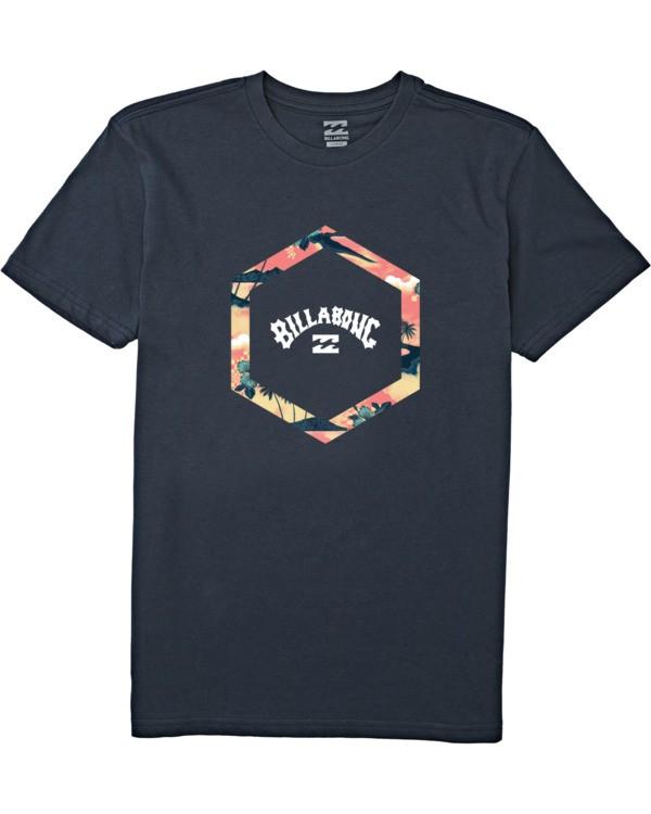 0 Boys' Access Short Sleeve T-Shirt Blue B4042BAC Billabong