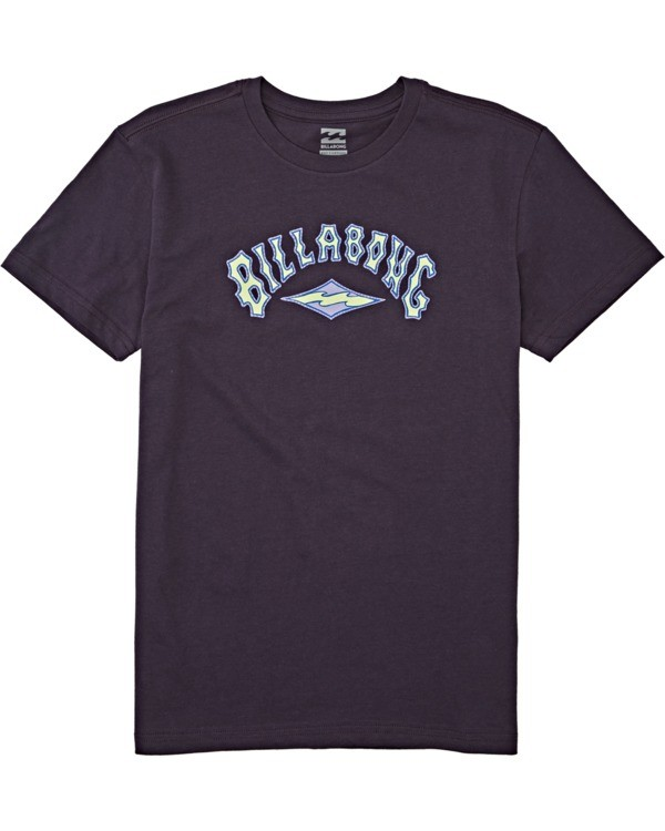 0 Boys' Arch Short Sleeve T-Shirt Multicolor B4042BAR Billabong