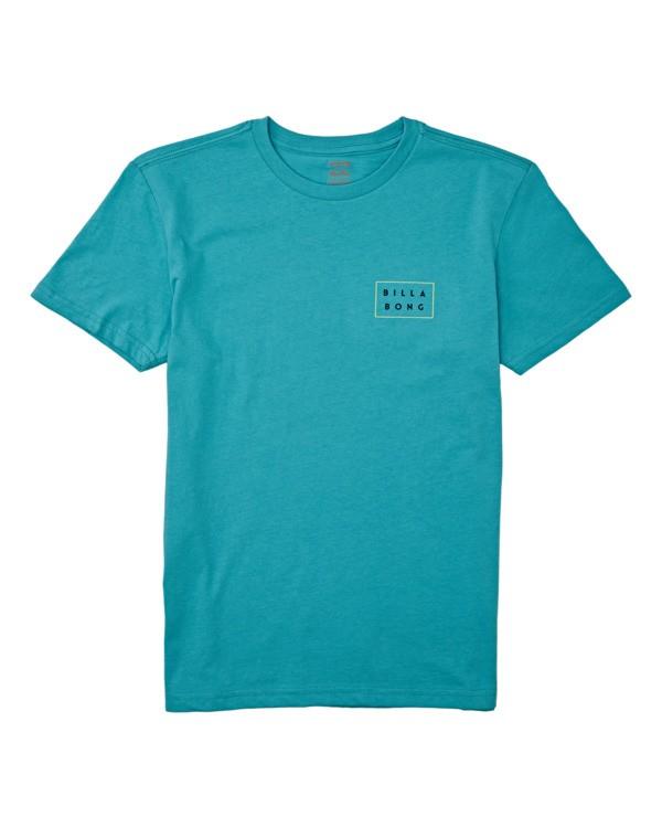0 Boys' Die Cut Short Sleeve T-Shirt Green B4042BDC Billabong