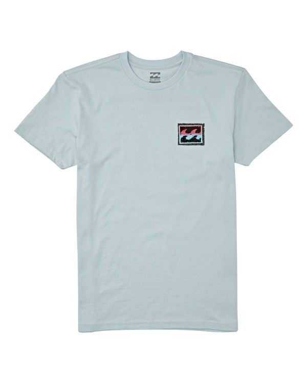 0 Boys' Nosara Short Sleeve T-Shirt Blue B4042BNO Billabong