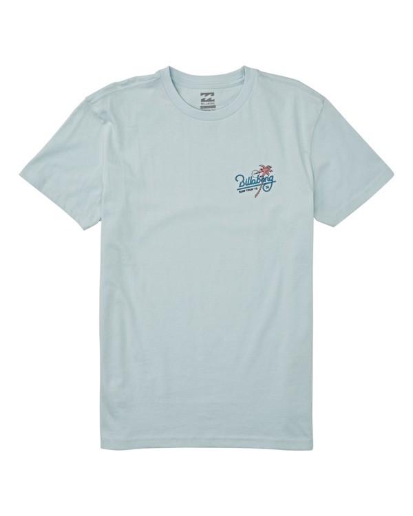 0 Boys' Surf Tour Short Sleeve T-Shirt Blue B4042BST Billabong