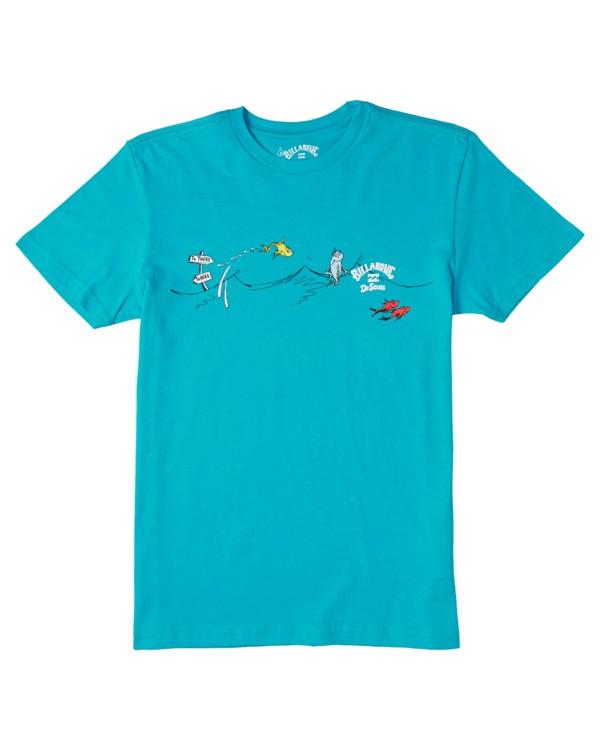 0 Boys' One Fish Two Fish T-Shirt Black B4043BOF Billabong