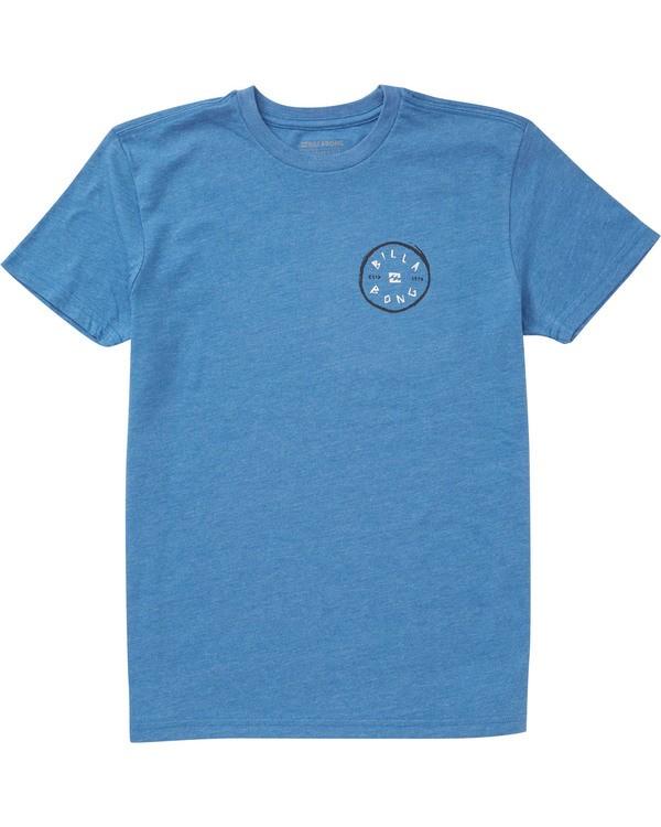 0 Boys' Rotohand T-Shirt Blue B404TBRH Billabong