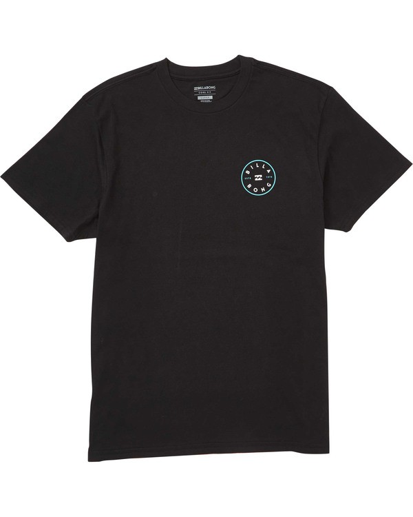 0 Boys' Boys' Rotor T-Shirt Black B404TBRO Billabong