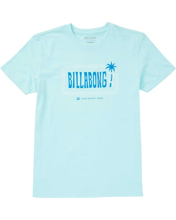 0 Boys' Seven Seas T-Shirt Blue B404TBSS Billabong