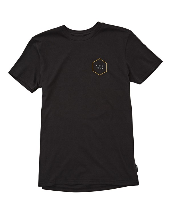 0 Boys' Access Border Tee Black B404UBAC Billabong