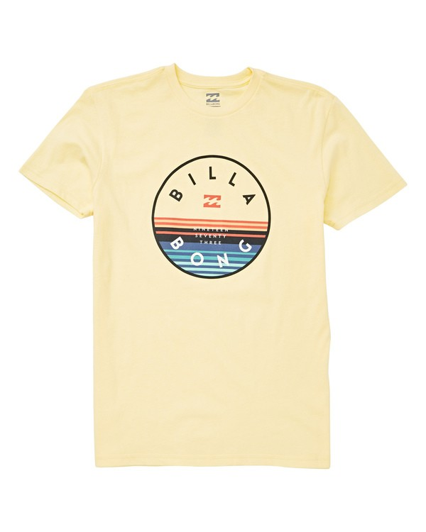 0 Boys' Boys' Rotor T-Shirt Yellow B404UBRO Billabong