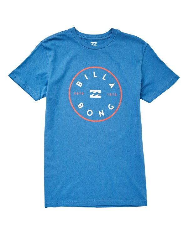 0 Boys' Boys' Rotor T-Shirt Blue B404UBRO Billabong