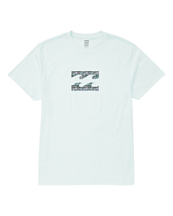 0 Boys' Team Wave T-Shirt Blue B404UBTE Billabong