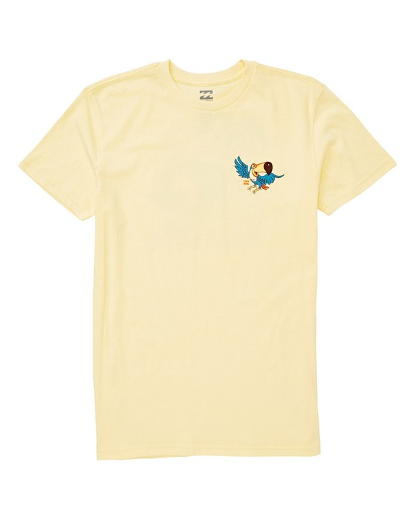 0 Boys' Toucan T-Shirt Yellow B404UBTO Billabong