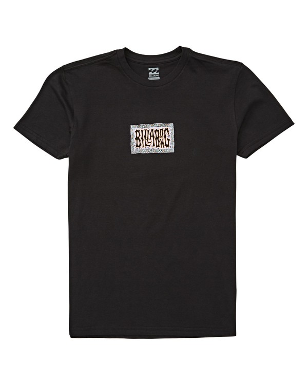 0 Boys' Warp Tee Black B404UBWA Billabong