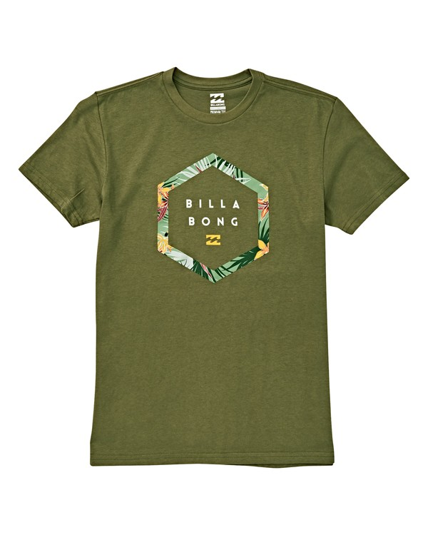 0 Boys' Access T-Shirt Green B404VBAC Billabong