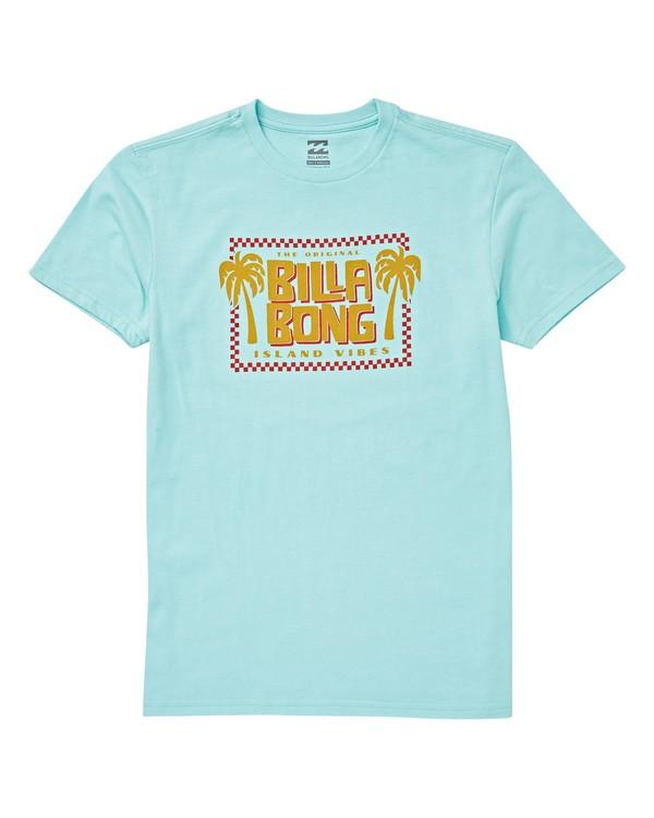 0 Boys' Calypso T-Shirt Blue B404VBCA Billabong
