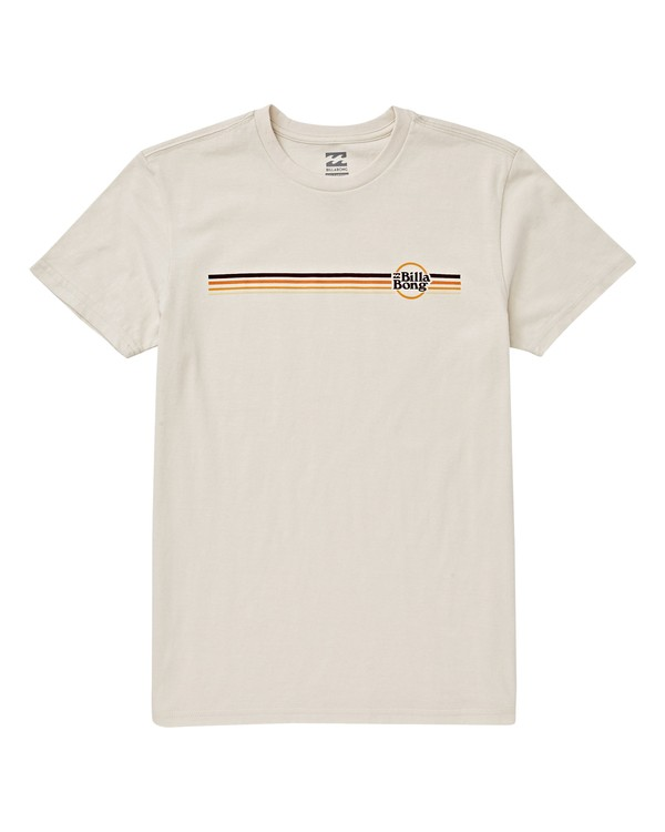 0 Boys' Cruise Stripe T-Shirt White B404VBCE Billabong