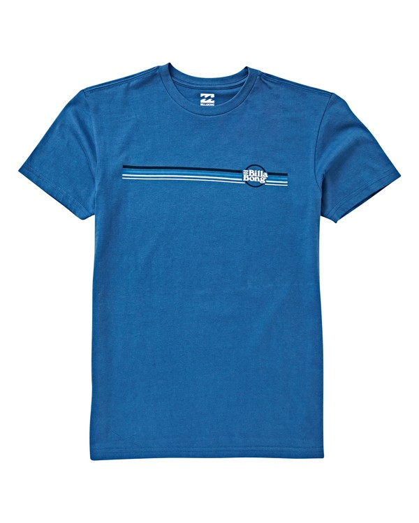 0 Boys' Cruise Stripe T-Shirt Blue B404VBCE Billabong