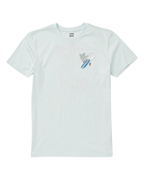 0 Boys' Hola Ola 2 T-Shirt Blue B404VBHL Billabong