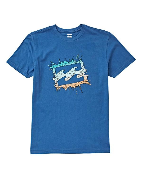 0 Boys' Splat T-Shirt Blue B404VBSP Billabong