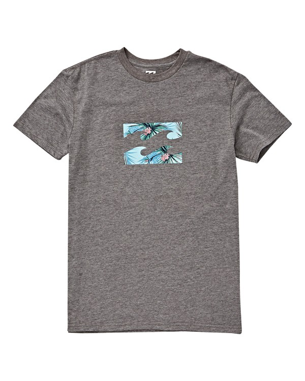 0 Boys' Teamwave T-Shirt Green B404VBTW Billabong