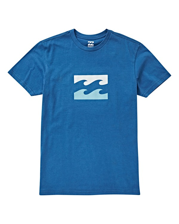 0 Boys' Teamwave T-Shirt Blue B404VBTW Billabong