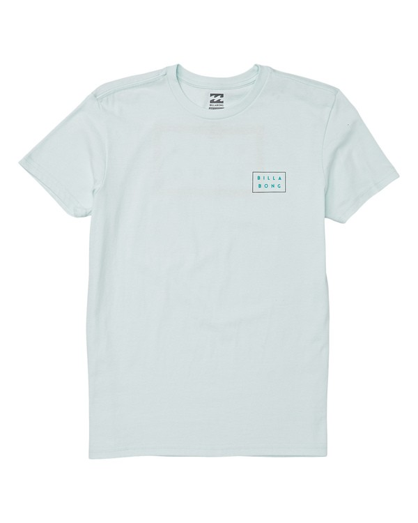 0 Boys' Diecut Short Sleeve T-Shirt Blue B404WBDC Billabong