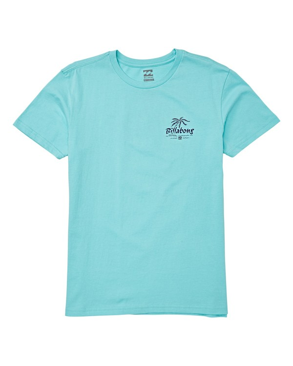 0 Boys' Club Short Sleeve T-Shirt Blue B404WBPH Billabong