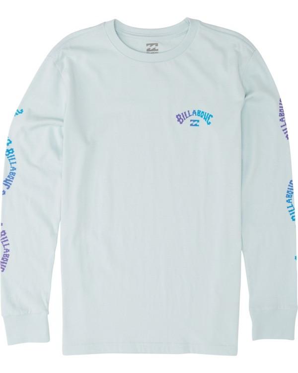 0 Boys' Arch Long Sleeve T-Shirt Brown B4051BAR Billabong