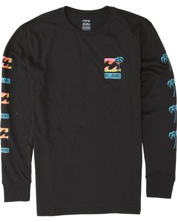 0 Boys' Bbtv Long Sleeve T-Shirt Black B4051BBB Billabong
