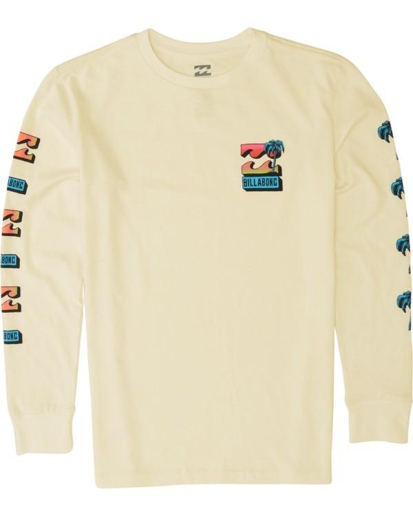 0 Boys' Bbtv Long Sleeve T-Shirt Yellow B4051BBB Billabong