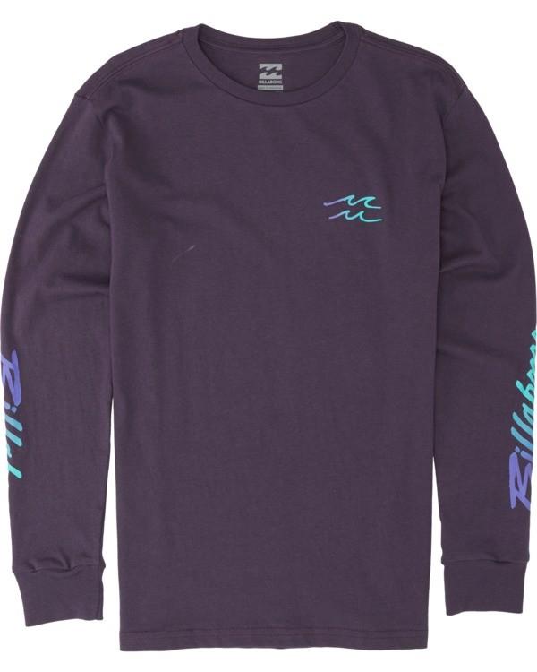 0 Boys' Riptide Long Sleeve T-Shirt Multicolor B4051BRT Billabong