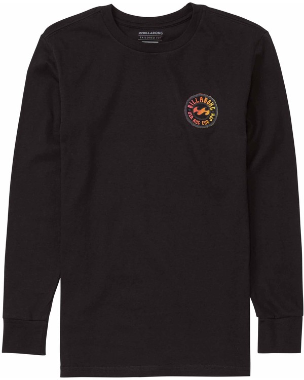 0 Boys' Flip Long Sleeve T-Shirt  B405MFLI Billabong