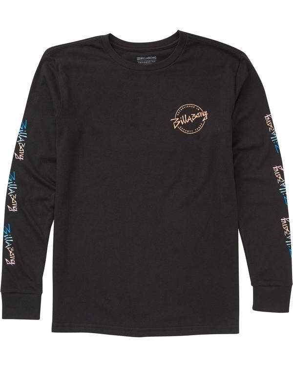 0 Boys' Eighty Six Long Sleeve T-Shirt  B405TBES Billabong