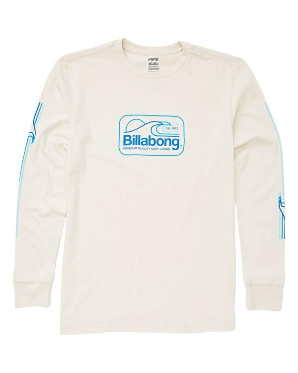 0 Boys' Dive T-Shirt White B405UBDI Billabong