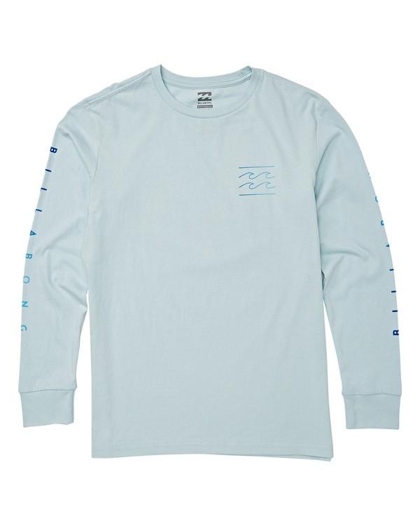 0 Boys' Unity Long Sleeve T-Shirt Blue B405WBUN Billabong