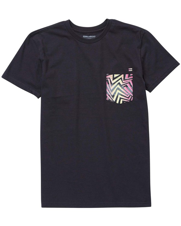 0 Boys' Team Pocket T-Shirt  B431NBTP Billabong