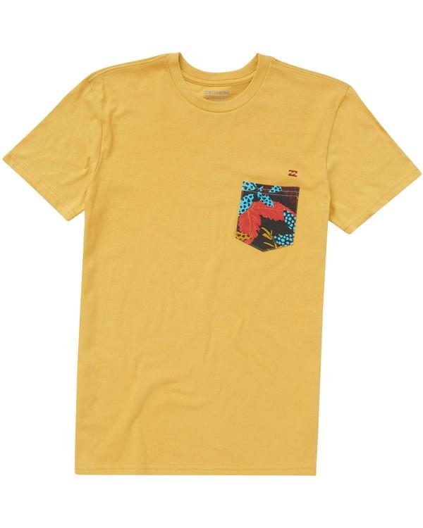 0 Boys' Team Pocket T-Shirt  B431PBTP Billabong