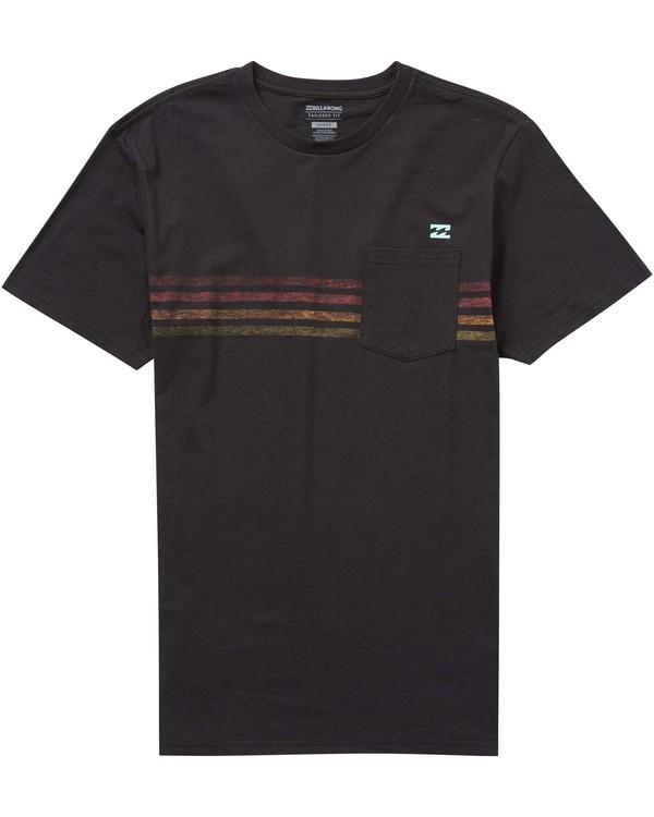 0 Boys' Team Stripe T-Shirt  B431PBTS Billabong